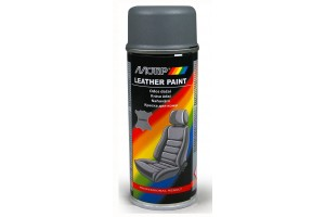 Leather paint  grey 200 ml.