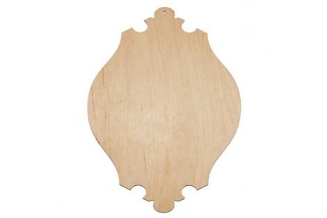 Medinė lentelė dekoravimui 15x20 cm. RD10-3