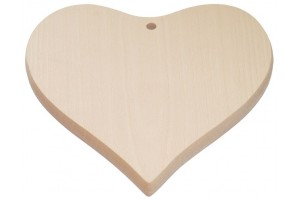 "Board for cutting ""heart"" little 1820"