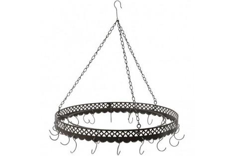 Metalinis žiedasdekoracijoms pakabinti 37,5 cm.