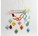 Metalinis žiedas dekoracijoms pakabinti 28 cm.