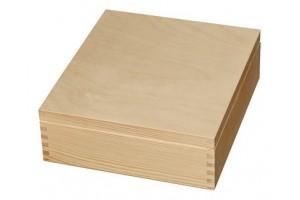 Mednė dėžutė arbatai 9 skyriai be spynelės 1226