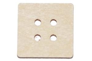 Saga medinė 2,5x2,5 cm. RD3-16