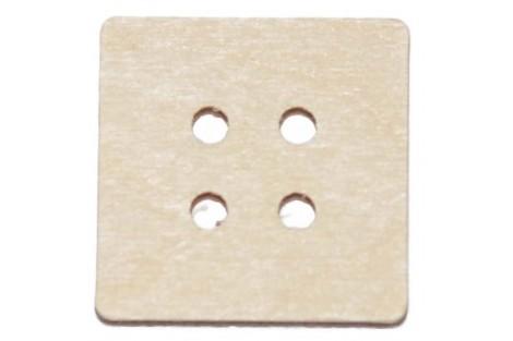 Saga medinė 2,5x2,5 cm. RD3-13