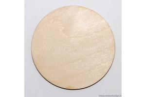 Base for brooch rounded 6 cm. P2-37