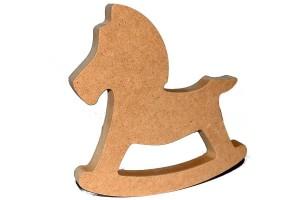 Dekoratyvinė formelė arkliukas MDF 20 cm. gift108