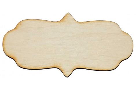 Medinė dekoracija lentelė 10x5 cm. Gift16