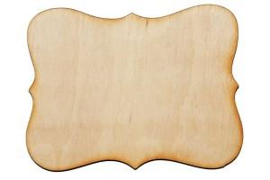 Medinė dekoracija lentelė 10x7,5 cm. Gift18B
