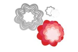 Die flowers 7 pcs.