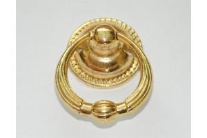 Rankenėlė didelė auksinė 3,2x5,1 cm. 1821