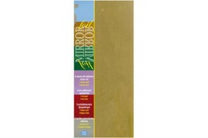 Popierius folija auksinė - sidabrinė 10x23 cm. 6 vnt.