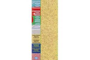 Popierius folija sidabrinė - auksinė 10x23 cm. 6 vnt.
