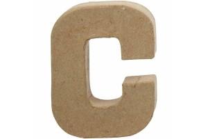 Pastatoma raidė C 10 cm.