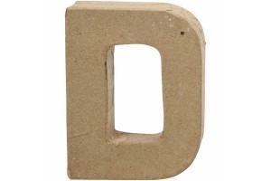 Pastatoma raidė D 10 cm.