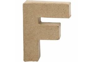 Pastatoma raidė F 10 cm.