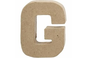 Letter 10 cm.