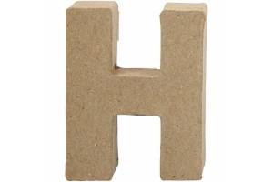 Pastatoma raidė H 10 cm.