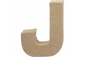 Pastatoma raidė J 10 cm.