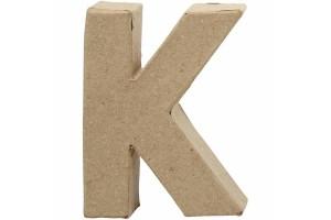 Pastatoma raidė K 10 cm.