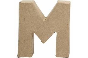 Pastatoma raidė M 10 cm.