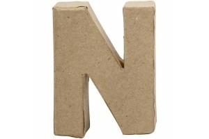 Pastatoma raidė N 10 cm.