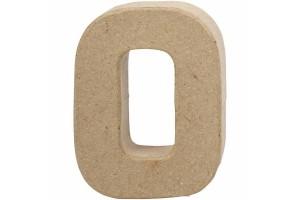 Pastatoma raidė O 10 cm.
