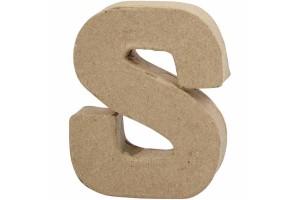 Pastatoma raidė S 10 cm.