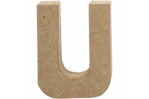 Pastatoma raidė U 10 cm.