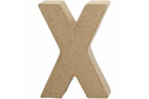 Pastatoma raidė X 10 cm.