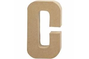 Pastatoma raidė C 20,5 cm.