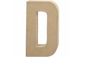 Pastatoma raidė D 20,5 cm.