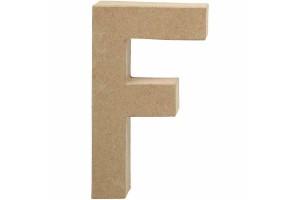 Pastatoma raidė F 20,5 cm.