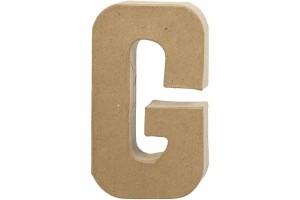 Pastatoma raidė G 20,5 cm.