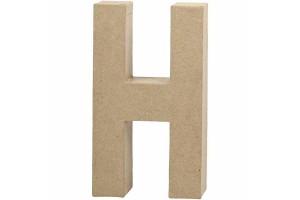 Pastatoma raidė H 20,5 cm.