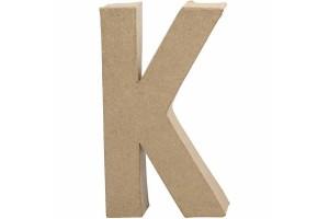 Pastatoma raidė K 20,5 cm.