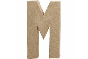 Pastatoma raidė M 20,5 cm.