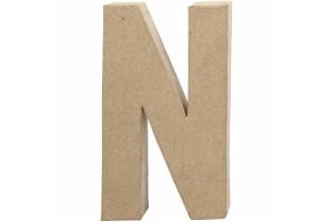 Pastatoma raidė N 20,5 cm.