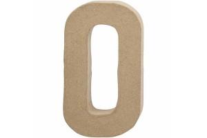 Pastatoma raidė O 20,5 cm.