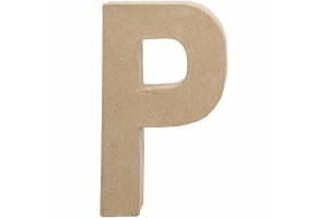 Pastatoma raidė P 20,5 cm.