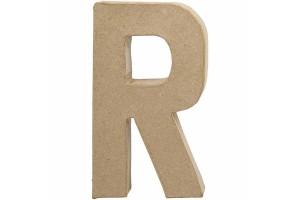 Pastatoma raidė R 20,5 cm.
