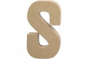 Pastatoma raidė S 20,5 cm.