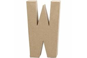 Pastatoma raidė W 20,5 cm.