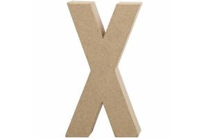 Pastatoma raidė X 20,5 cm.