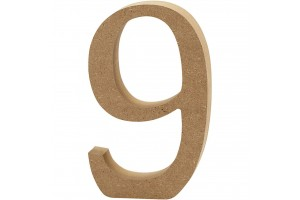 Number 10 cm.