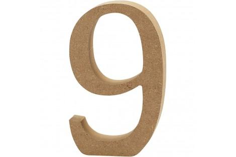 Pastatomas skaičius 10 cm. 8