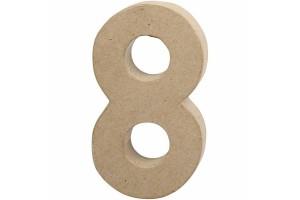 Pastatomas skaičius 20,5 cm. 8