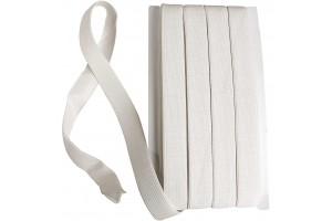 Elastic cord 1 metre white