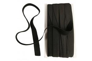 Elastic cord 1 metre black