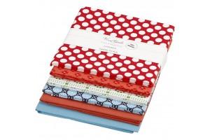 Tekstilės rinkinukas 45x45 cm., 140 g, 6 vnt.