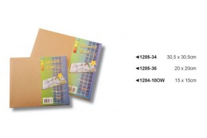 Albumas skrebinimui ar dekupažui natūralus 20x20 cm.